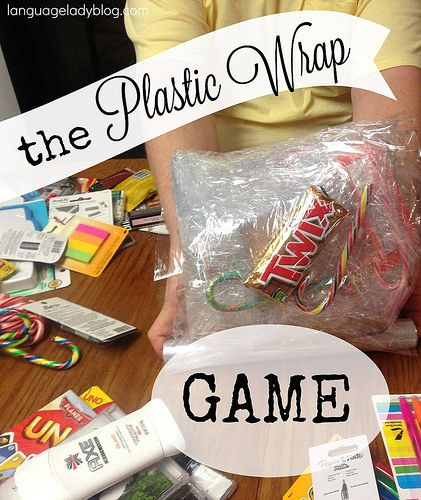 The Plastic Wrap Game by Language Lady