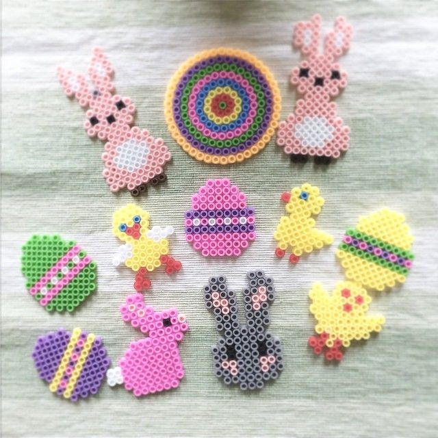 Easter perler beads by cednell