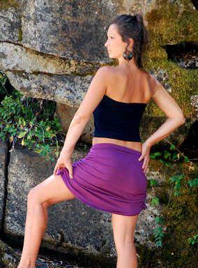 Cinchy Skirt-Womens Skirt-Yoga Skirt-Purple skirt-athletic skirt-Urban Goddess Clothes-Activewear-Cotton Skirt-Hippie Skirt-Sexy Mini Skirt by aurorawear1 on Etsy https://www.etsy.com/listing/124368211/cinchy-skirt-womens-skirt-yoga-skirt