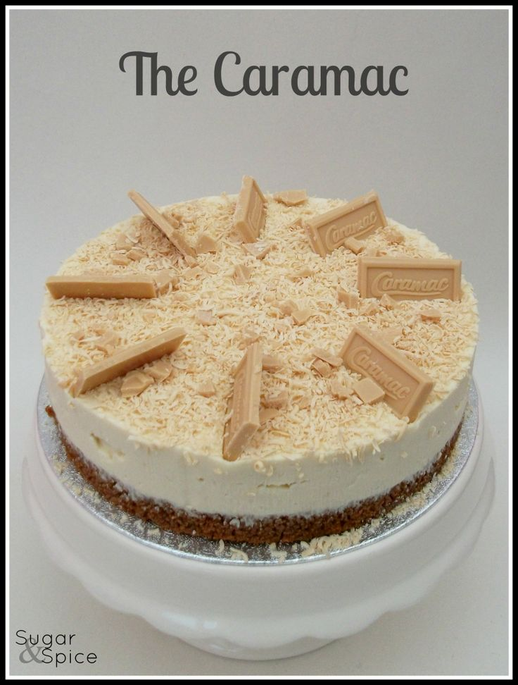 Caramac Cheesecake https://www.facebook.com/SugarandSpiceGourmandise