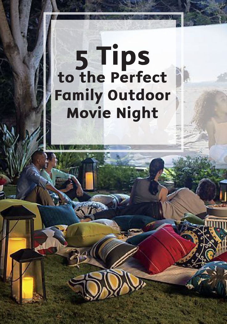 There are few things as fun and memorable as watching a movie outside with your entire family. Check out these 5 Easy Tips to the Perfect Family Outdoor Movie Night for the best experience possible. From seating to snacks, and an easy cleanup with Bounty Paper Towels, every detail is considered in this great post.