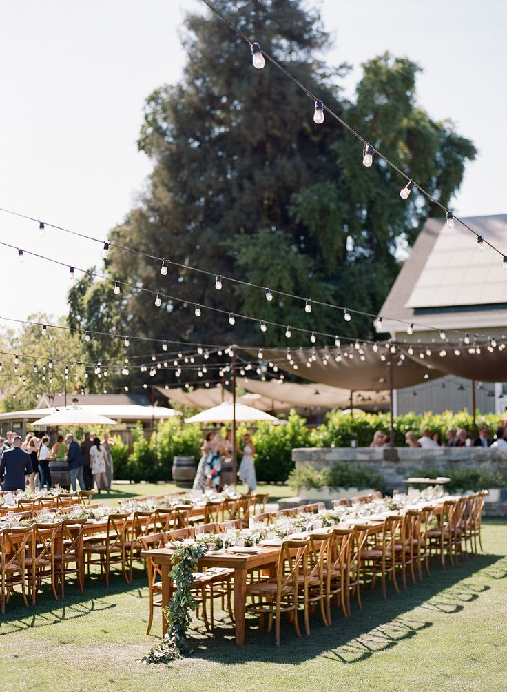 backyard wedding venues in orange county ca%0A Outdoor Summer Wedding at Long Meadow Ranch    Michaela  u     Andrew