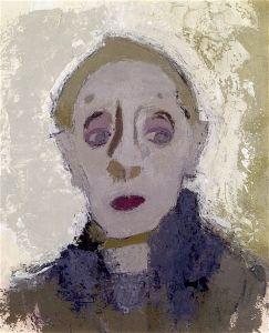 Helene Schjerfbeck, 'Self Portrait', 1942