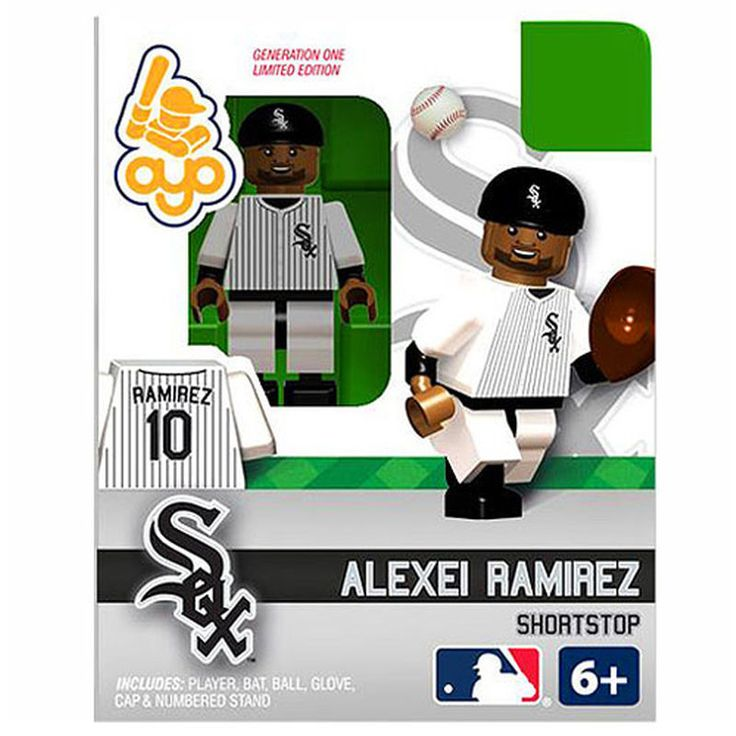 Alexei Ramirez Chicago White Sox OYO Sports Player Minifigure