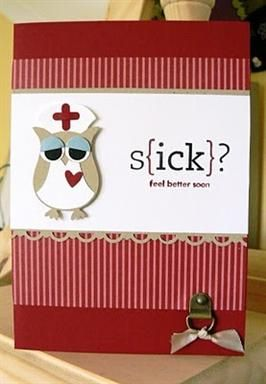 Cute get well from owl punch?