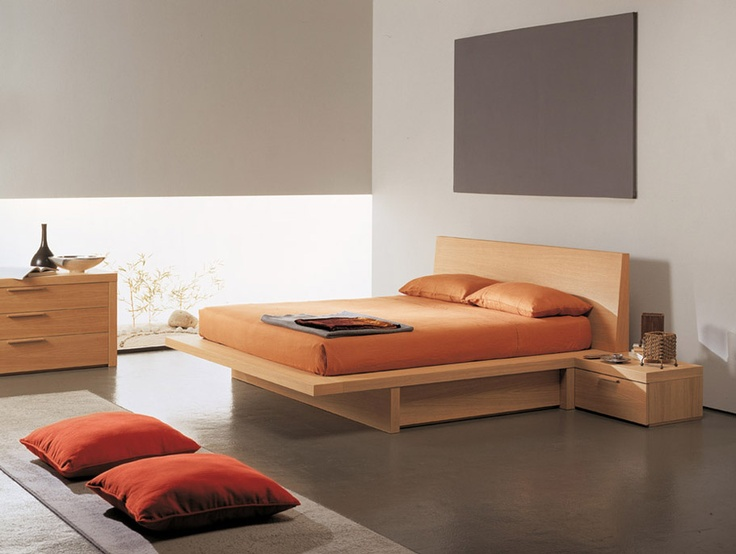 TATOO - Bed in bleached oak finishing with functional and big side drawers.  Heavy-duty drawer Tatoo With sides and top in big thickness. http://www.fimarmobili.com