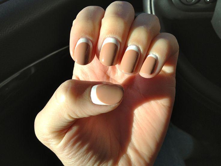 reverse french manicure - Buscar con Google