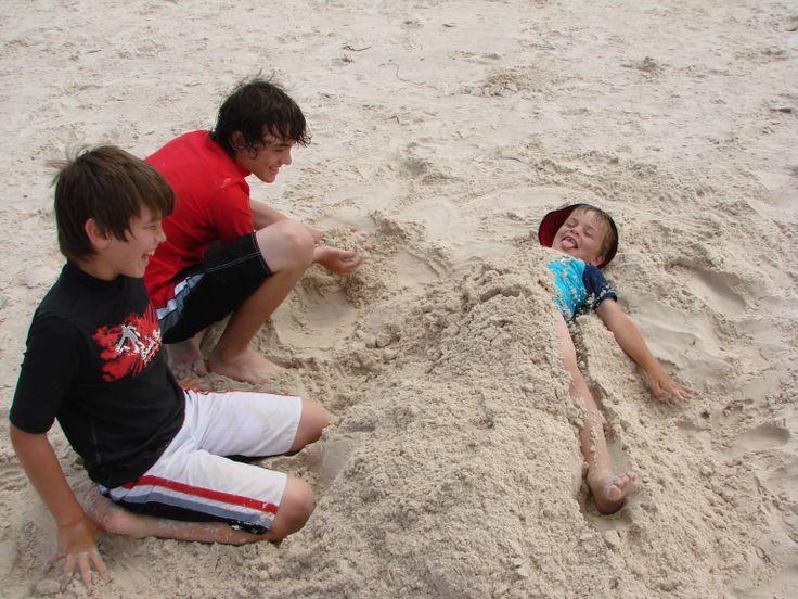 Australia Day Beach Fun #AustraliaDayOnboard