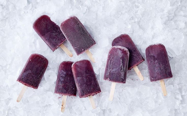These refreshing watermelon, blueberry and limoncello ice blocks are the perfect adults-only way to cool down this summer. Make a large batch and keep them in the freezer for those unexpected guests.