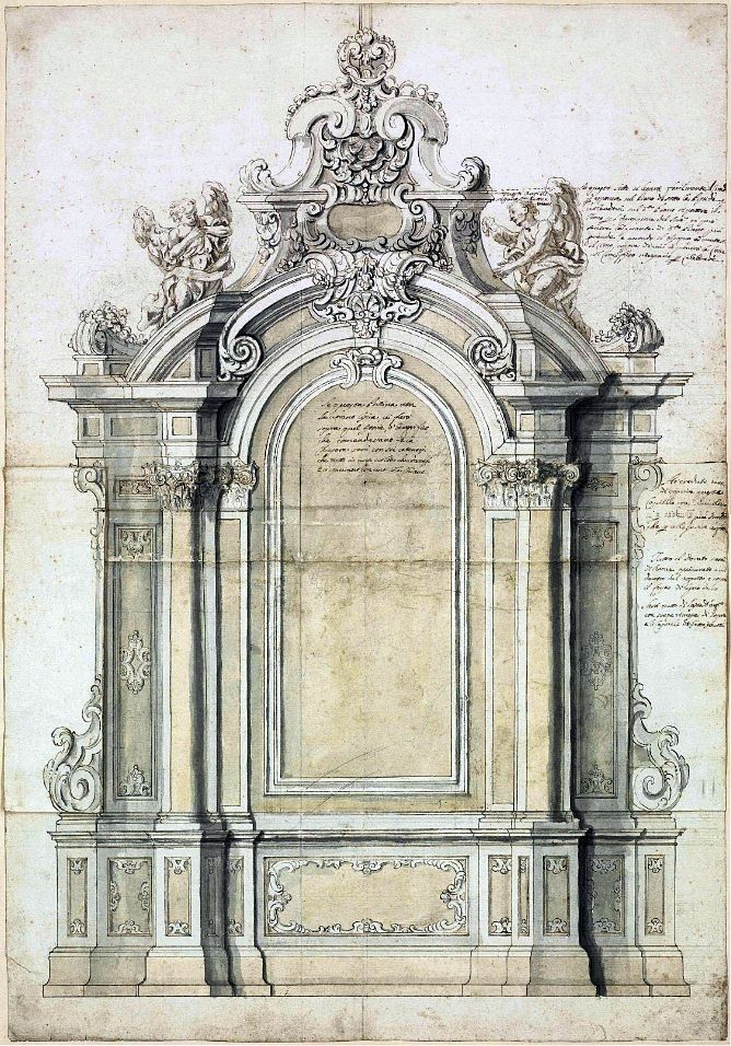 Karoline von manderscheid roman school design for an for Architecture baroque