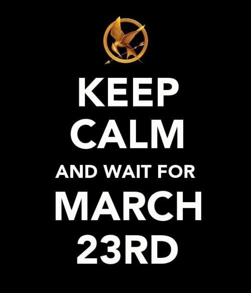 I'm trying to remain calm but I'm too exciteddddd! xD: Birthday, Hungergames