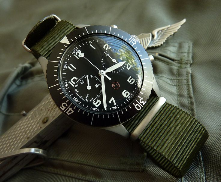 Wilson Watch Works Military Chronograph | Watches | Trendy ...