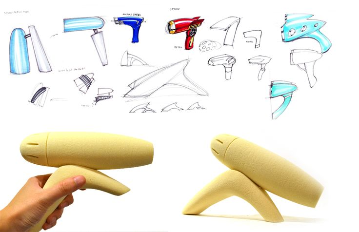 Hairdryer Design by littlemian.deviantart.com on @DeviantArt