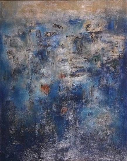 'Composition No.8' (1958) by Zao Wou-ki