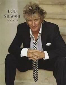 Rod Stewart..Still playing his albums