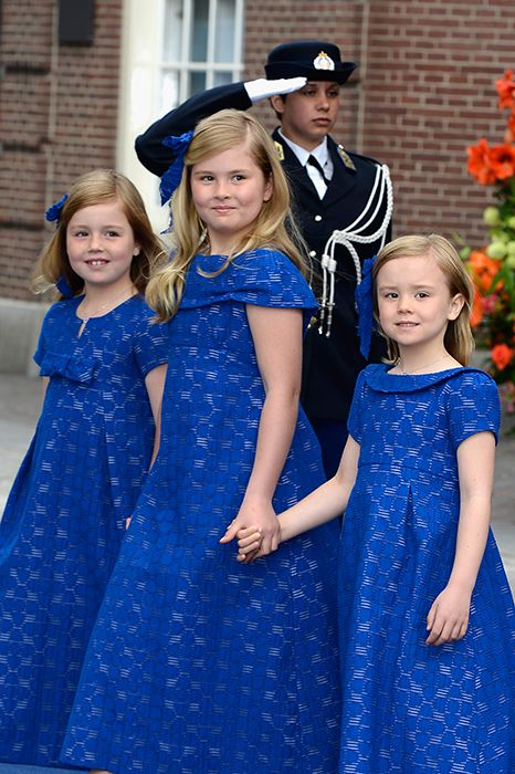 young royals heirs destined for the throne                 Princess Catharina-Amalia of the Netherlands (center)