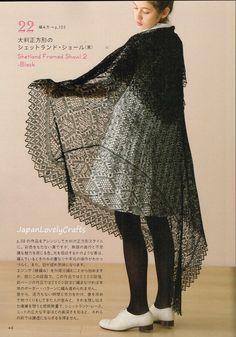 Shetland Lace Knitting Toshiyuki Shimada от JapanLovelyCrafts