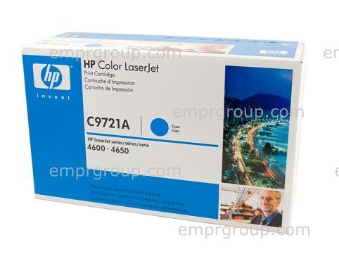 Cyan toner cartridge - For the Color LaserJet 46XX series printers