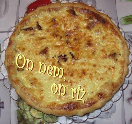 Tarte au mascarpone et aux tomates séchées