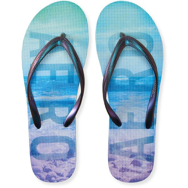 c6afcdd18 Aeropostale Braided FlipFlop 12 liked on Polyvore featuring