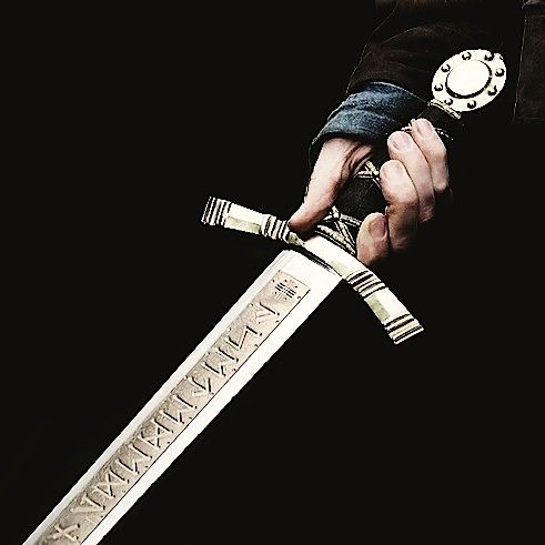 The King's old sword, which Giles gives to James on his 18th birthday.