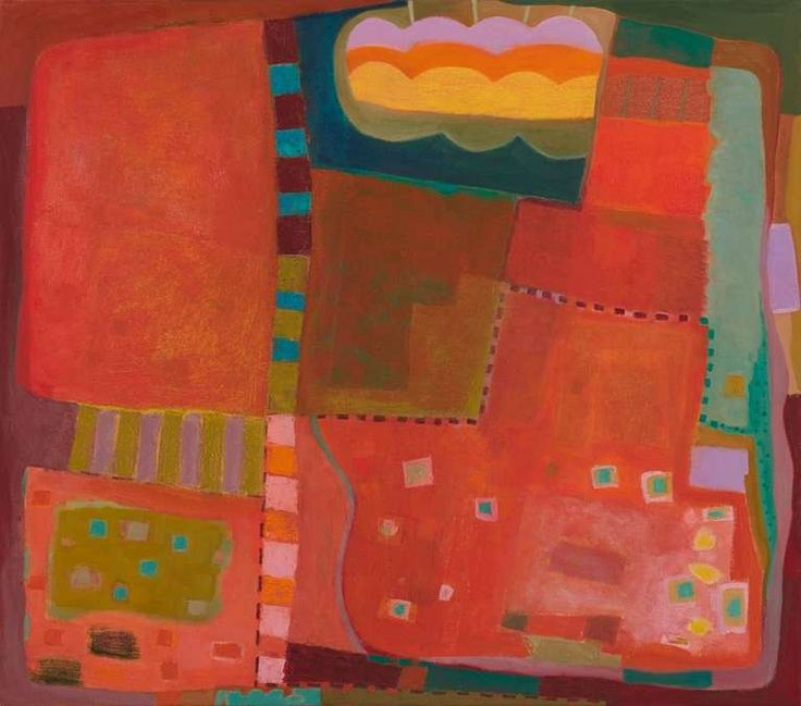 Run Around   From a unique collection of abstract paintings at http://www.1stdibs.com/art/paintings/abstract-paintings/