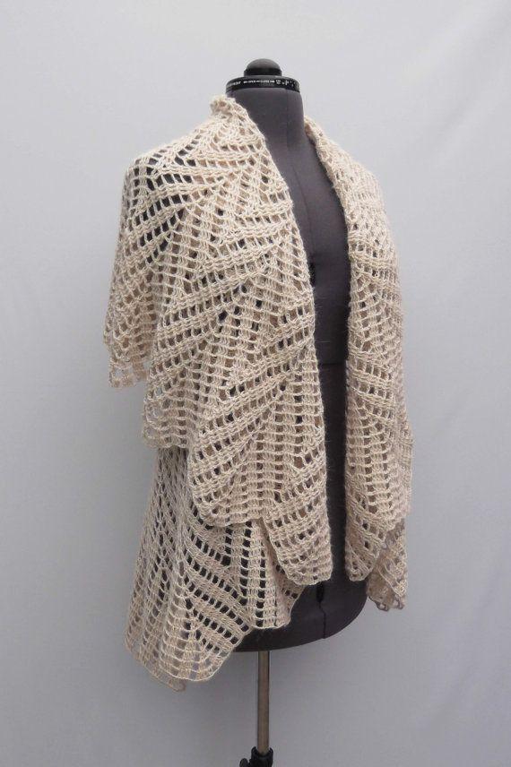 Crochet Woman Transformer Bolero Skirt Poncho by CrochetSecret