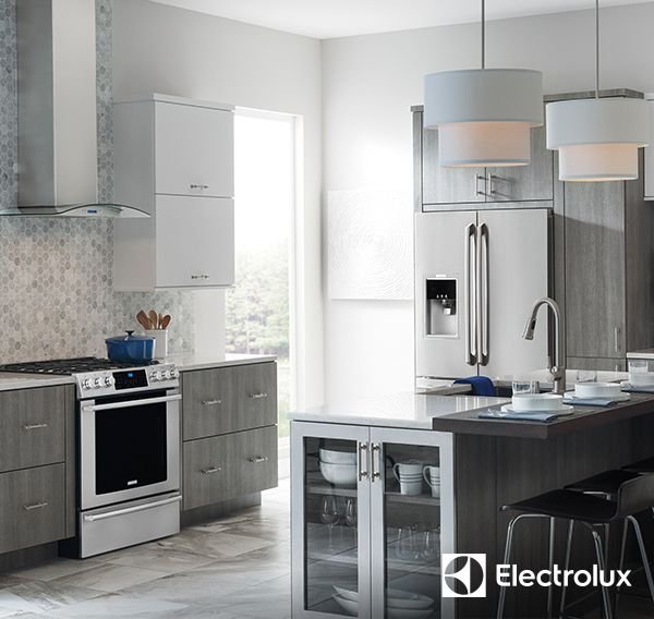 upgrade your kitchen to dream status with the stylish stainless steel look of electrolux appliances