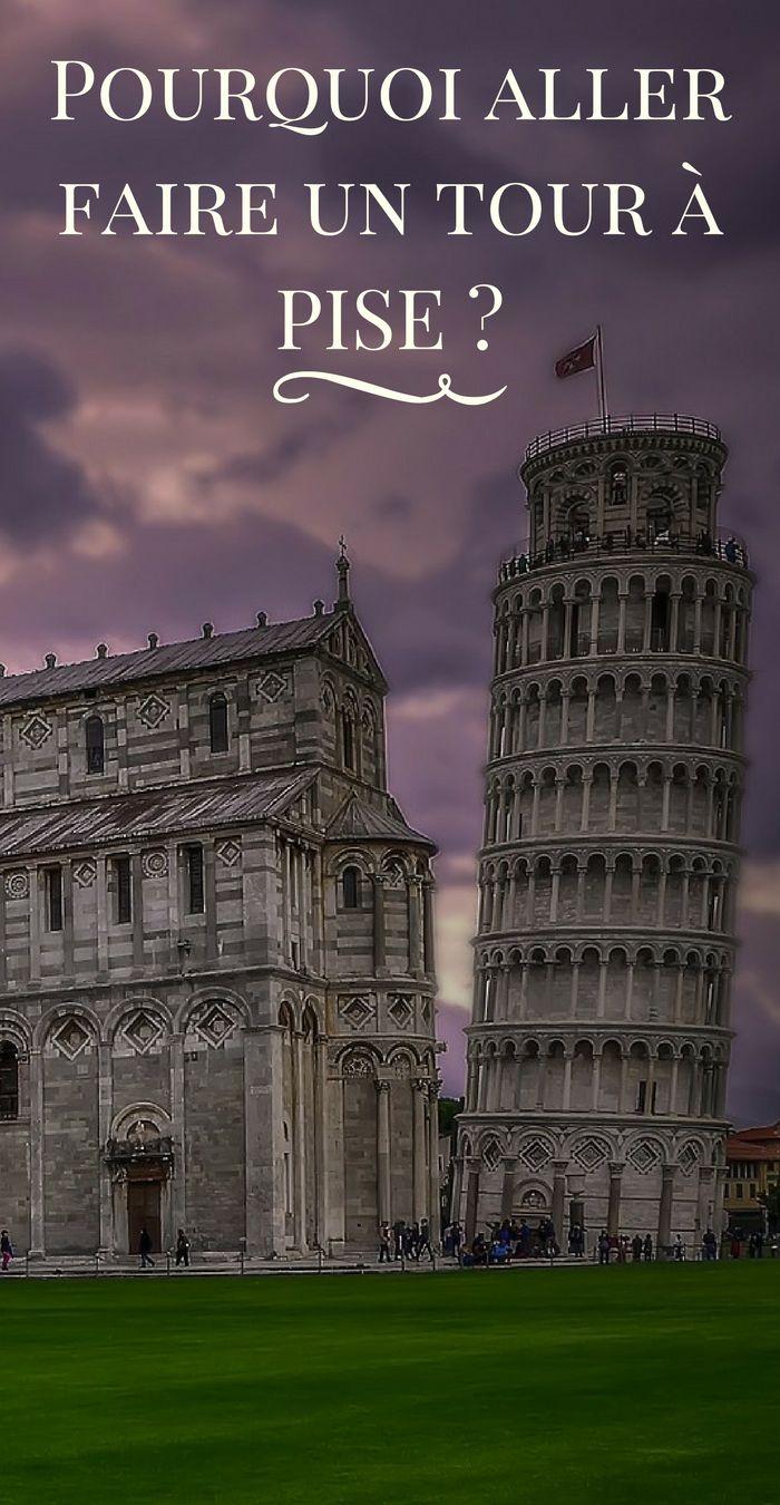 Quels sont les avantages à visiter Pise ? Pourquoi cette tour est-elle penchée ? Tant de questions auxquelles vous trouverez des réponses dans notre article ! #Pise #Italie #Voyage #Vacances