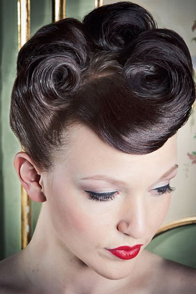 chicago hair style brides vintage 40 s inspired up styles chicago hair 2965