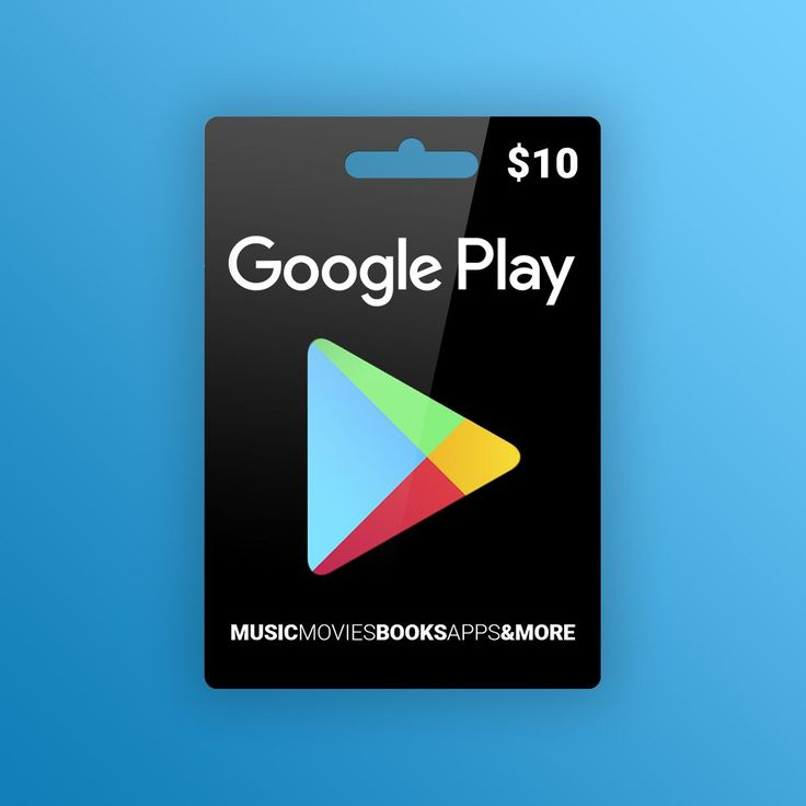 Google play gift card 10 usd north america apple gift