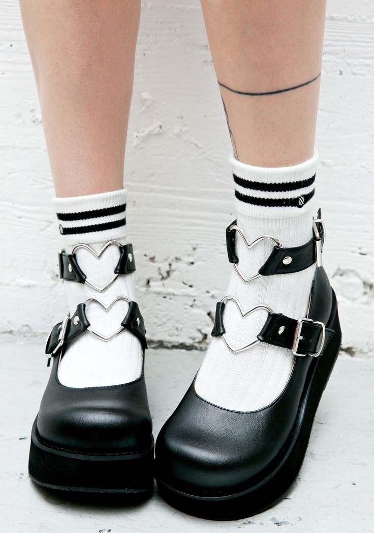 Demonia - Evil Crybaby Mary Janes http://www.dollskill.com/demonia-evil-crybaby-mary-janes.html