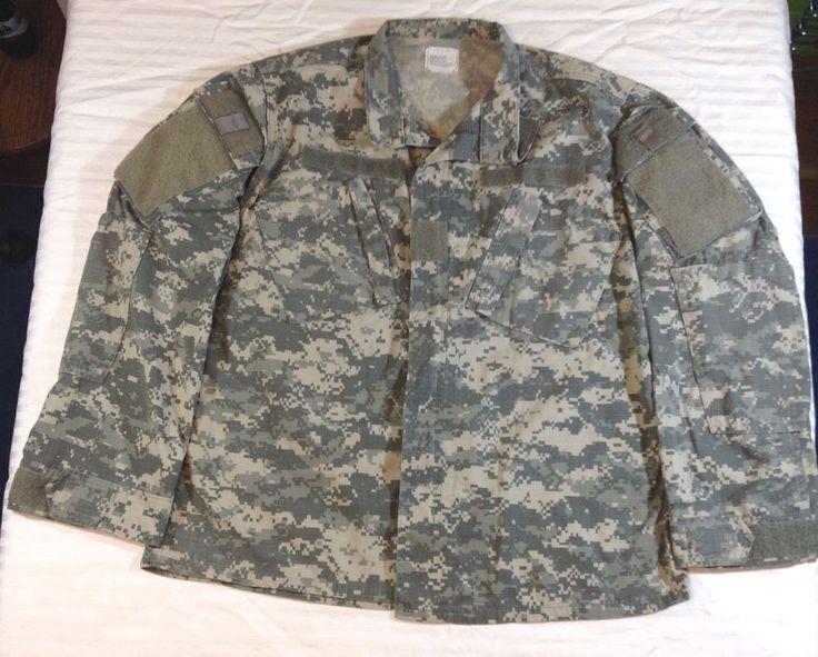 US Army Digital Camo Jacket Medium Regular Official Military Combat Uniform Coat    eBay