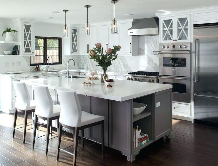 L Shaped Kitchen Ideas L Shaped Kitchen With Island Adorable L