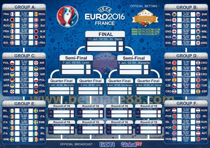 Wallpaper Jadwal Piala Eropa 2016