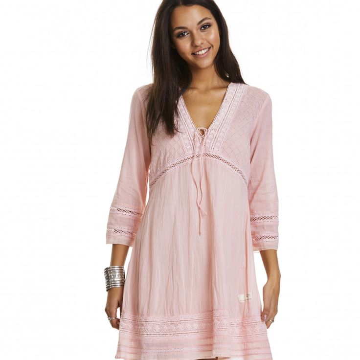peaceful dress MILKY PINK