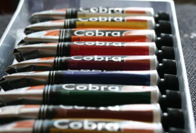 Best 7 Brands of Water Mixable Oil Paints: Royal Talens Water Mixable Oils: Cobra