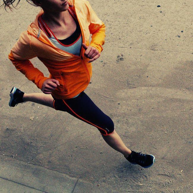 Running girl #Correre #speed