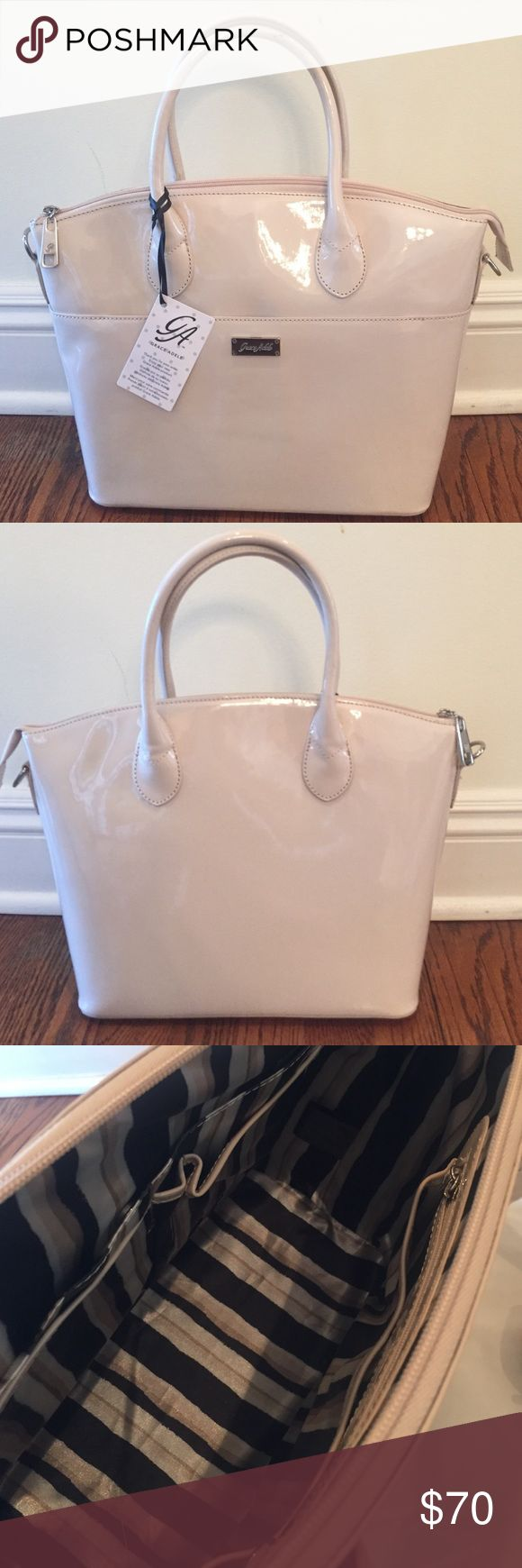 NEW Grace Adele Roxie Bag NWT Grace Adele Roxie Bag.  Includes Bag with dust bag and Shoulder strap. Grace Adele Bags Satchels