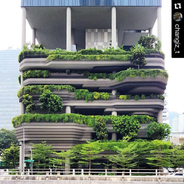 Consulta esta foto de Instagram de @woha_architects • 726 Me gusta
