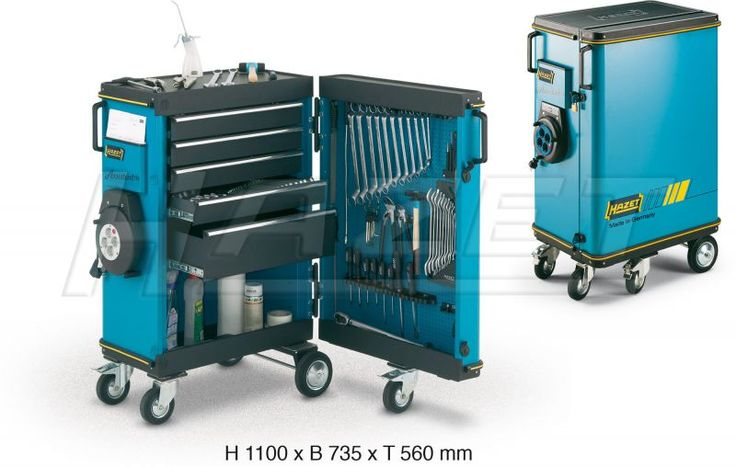 Tool trolley Assistent - HAZET