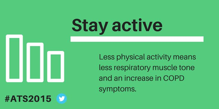 #COPD is a chronic, progressive, incurable lung disease affecting 210m patients worldwide. Staying active is important for better quality of life.