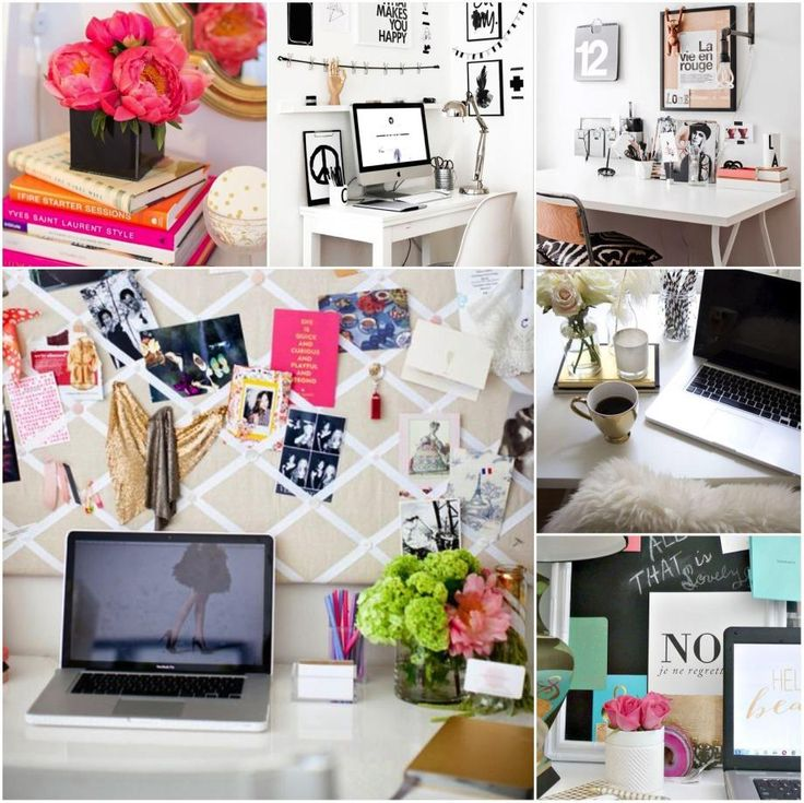 Ideas deco pinterest ideas y b squeda for Como decorar tu escritorio de oficina