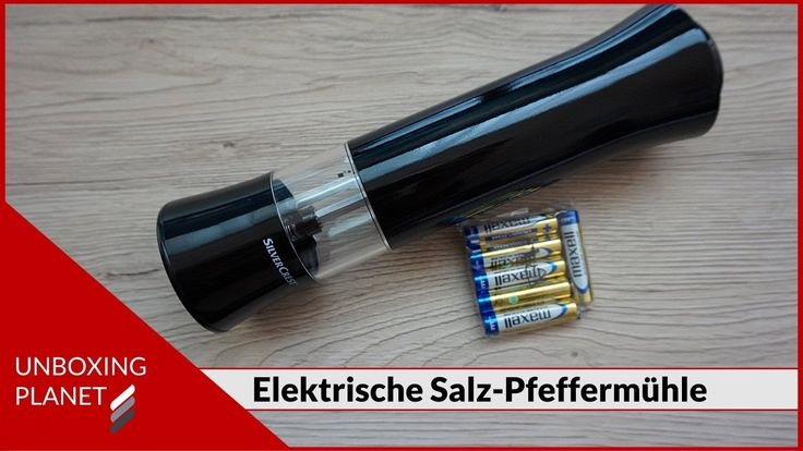 Unboxing einer elektrischen Salzmühle oder Pfeffermühle #unboxing #salzmühle #pfeffermühle #elektrisch