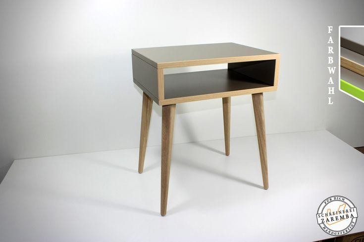 Nachtschränke - Beistelltisch - Nachttisch skandinavisches Design  - ein Designerstück von Schreinerei-Zaremba bei DaWanda