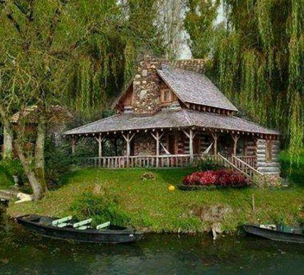 cabin on a bayou