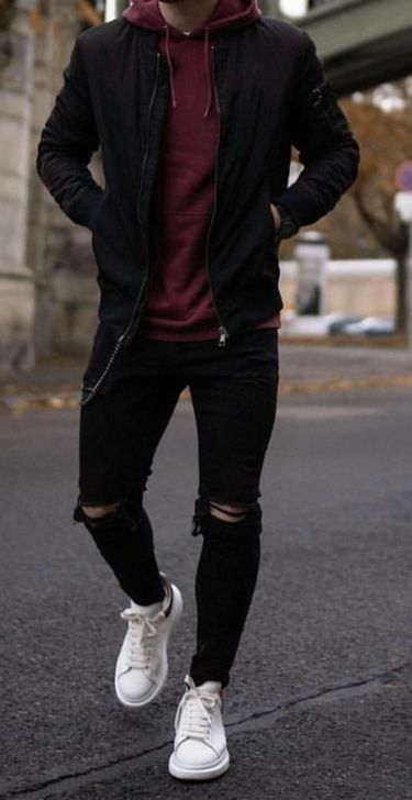 99 elegant winter fashion outfits for men in 2019- 99 elegante Wintermode-Outfit…
