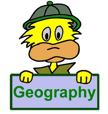Geography for Kids. World maps and countries.