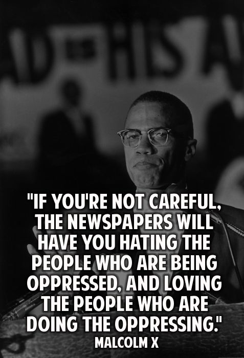this is a great quote because it explains how much media can change our perceptions and have us believe something that we normally wouldnt.. i think it is important to try to get your news from as many different sources so that have a higher variety of view points and opinions. this can help you form your own view points an opinions as opposed to just believing in one..