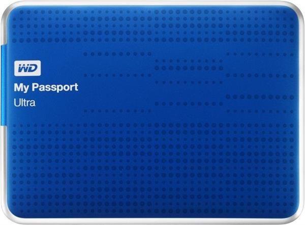 Passport WDBZFP0010BBL 1TB 2,5'' USB 3.0 - niebieski
